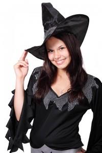Women in halloween costume