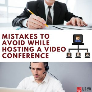 Etiquette Mistakes to avoid while hosting a video conference
