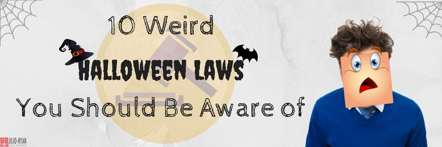 10 Weird Halloween Laws