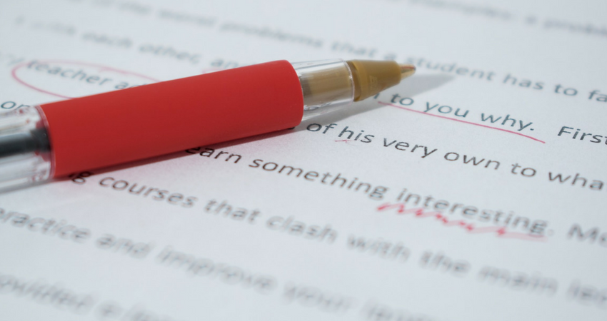 proofreading matter in court reporting