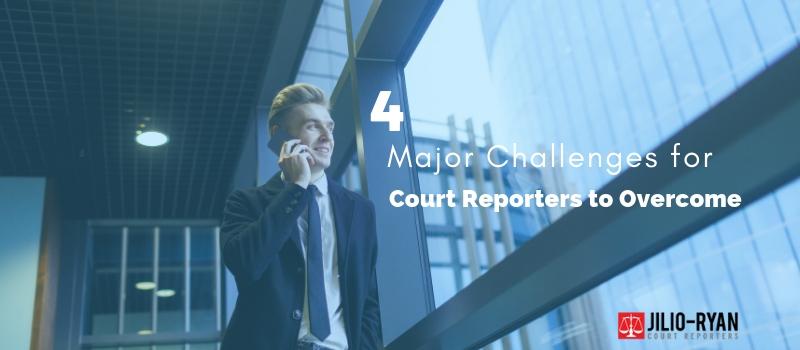 court reporters overcome